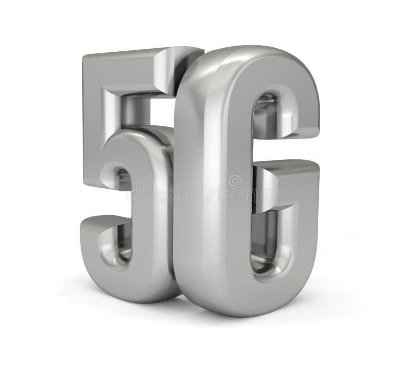 text f?r internet f?r teknologi f?r n?tverk 5G tr?dl?s stock illustrationer