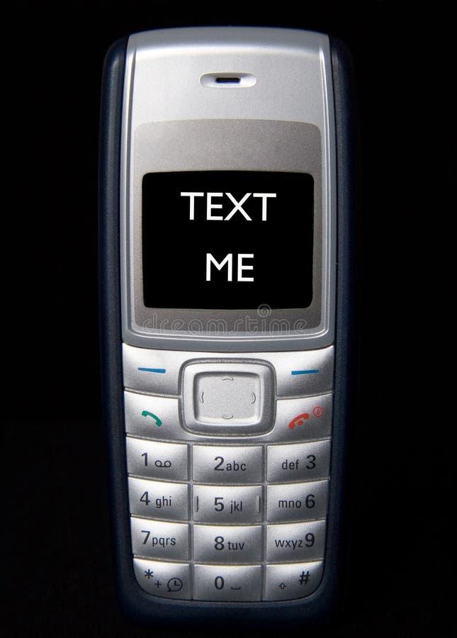 Text Me stock photo