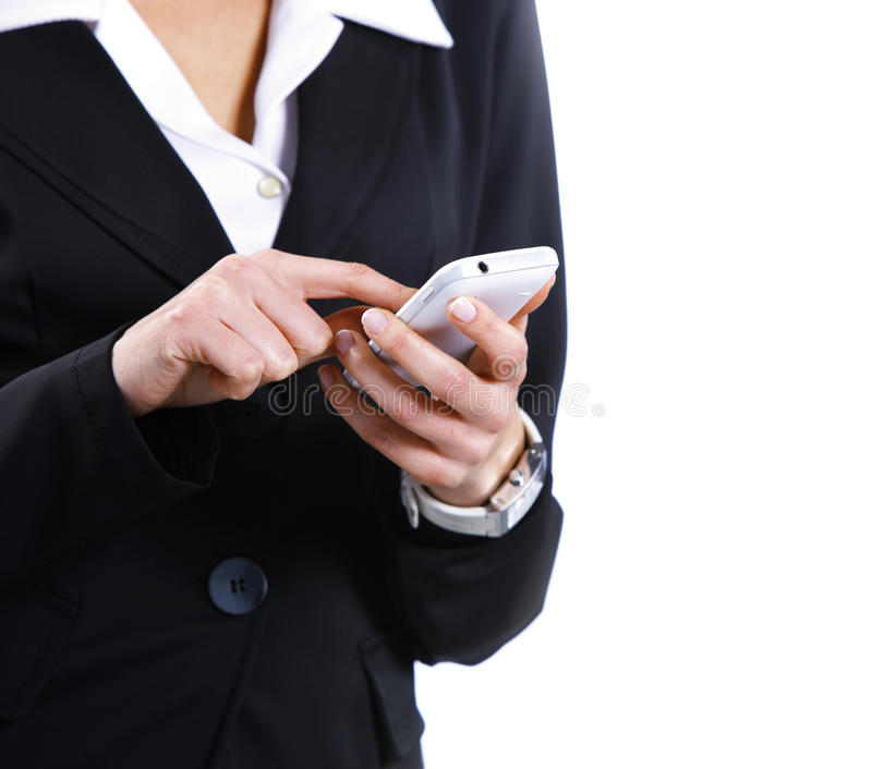 Download Text Messaging On Cell Phone Stock Photo - Image: 23806376