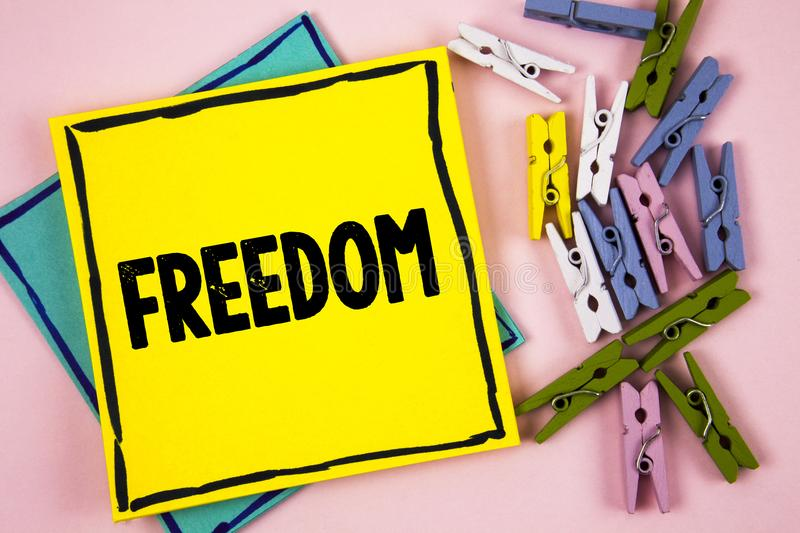 Download Text Sign Showing Freedom Conceptual Photo Going Out For A Vacation Students Having