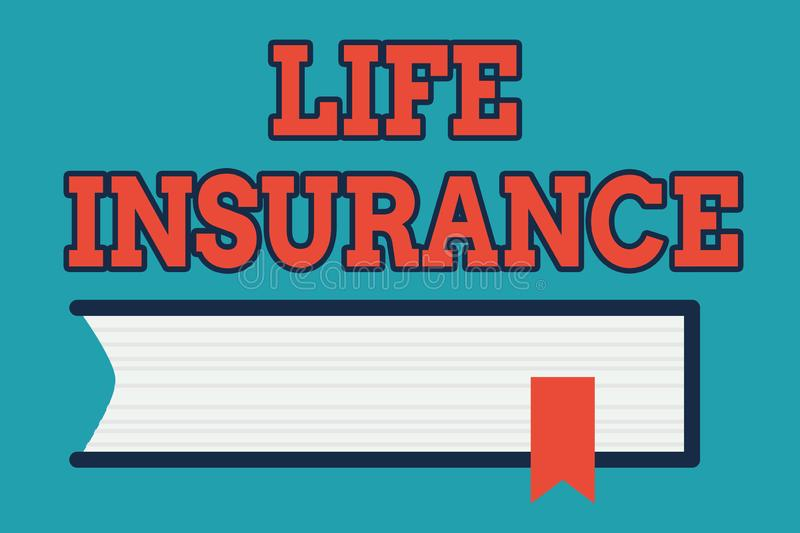 Text Sign Showing Life Insurance. Conceptual Photo Payment ...