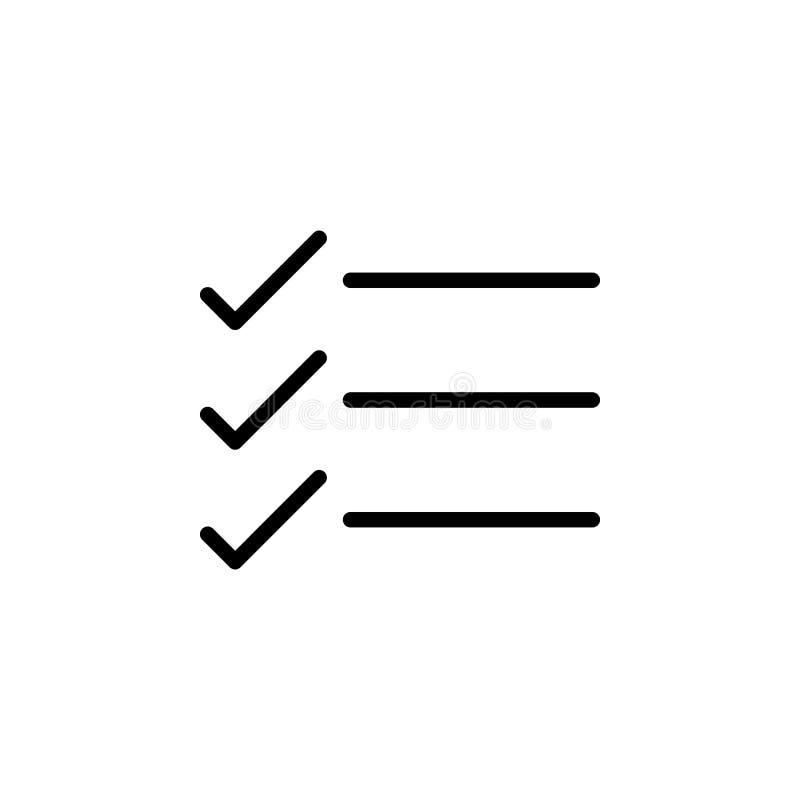 Text symbol för kontrollfläck Kan användas för rengöringsduken, logoen, den mobila appen, UI, UX royaltyfri illustrationer