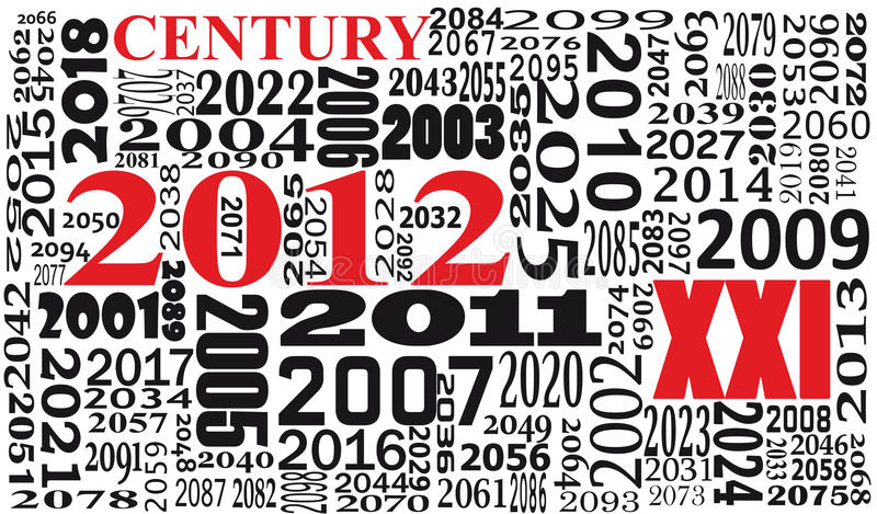 Download Text of xxi century stock vector. Illustration of history - 20009602