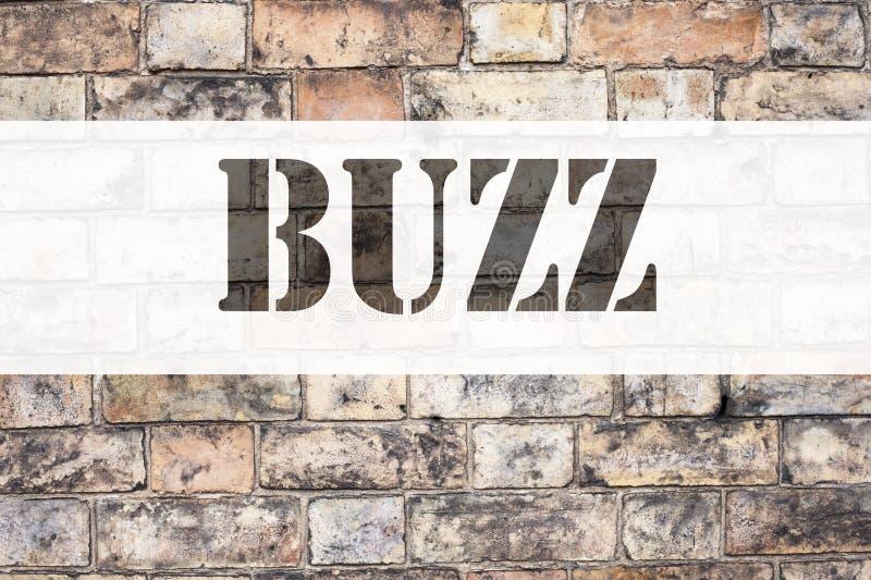 Textbeskrivning för koncept som visar Jerzy Buzz Affärskoncept för Buzz Word-förklaring skriven på gammal fotografering för bildbyråer