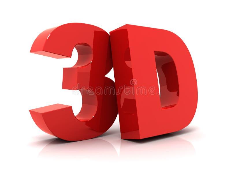 texte 3D illustration libre de droits