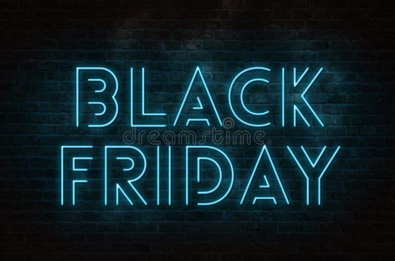 Texte de Black Friday illustration libre de droits