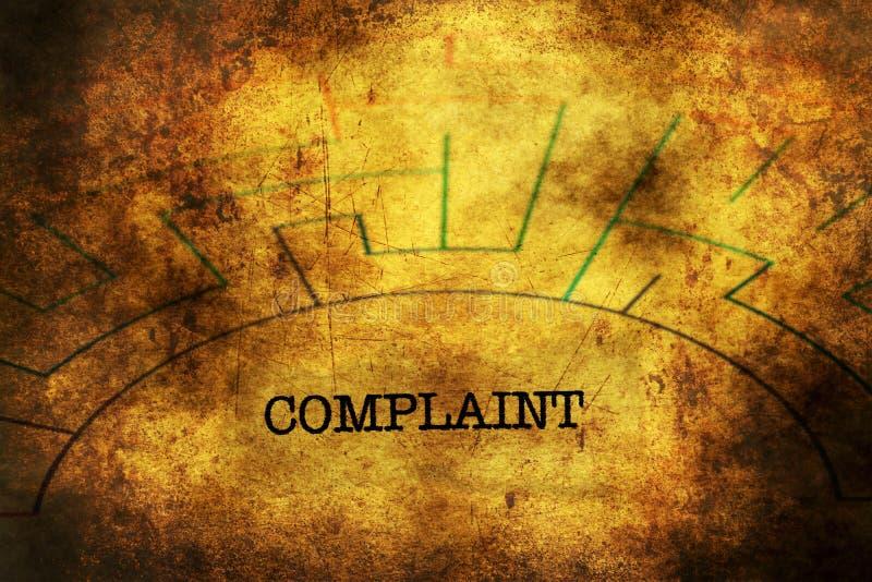 Texte de plainte sur le concept grunge de labyrinthe illustration libre de droits