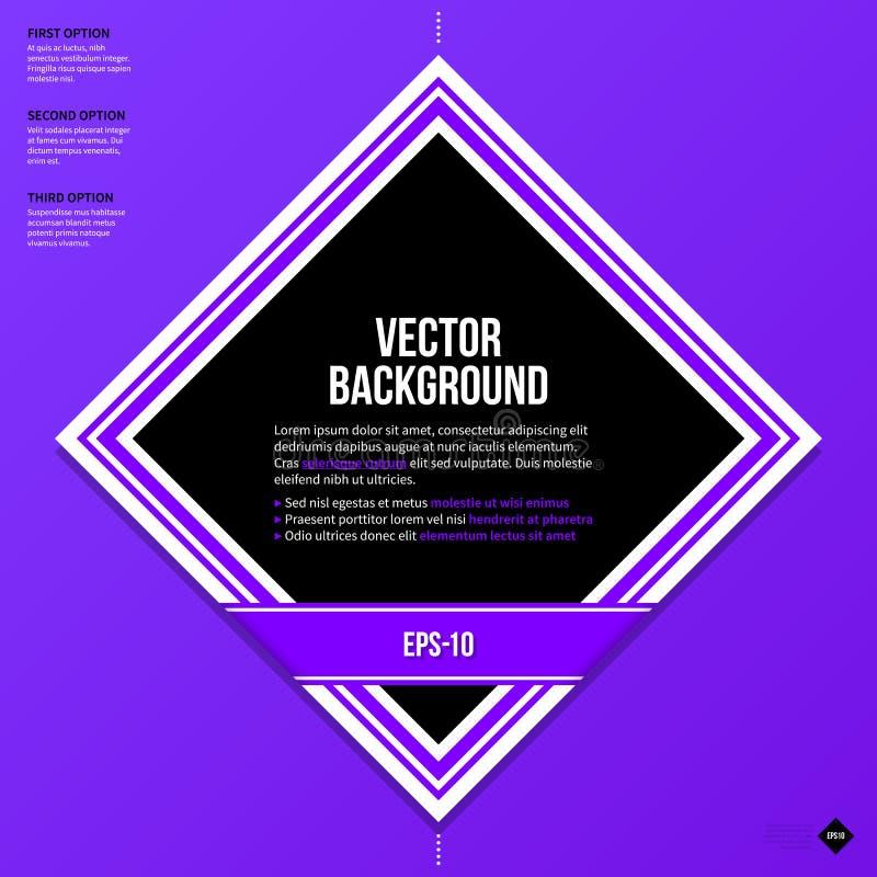 Texthintergrundschablone Vektor Eps10 vektor abbildung