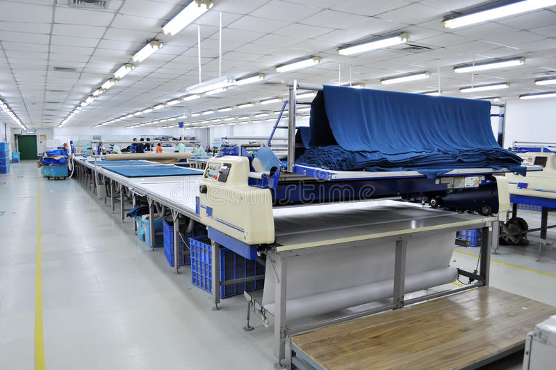 Textiel apparatuur stock afbeelding