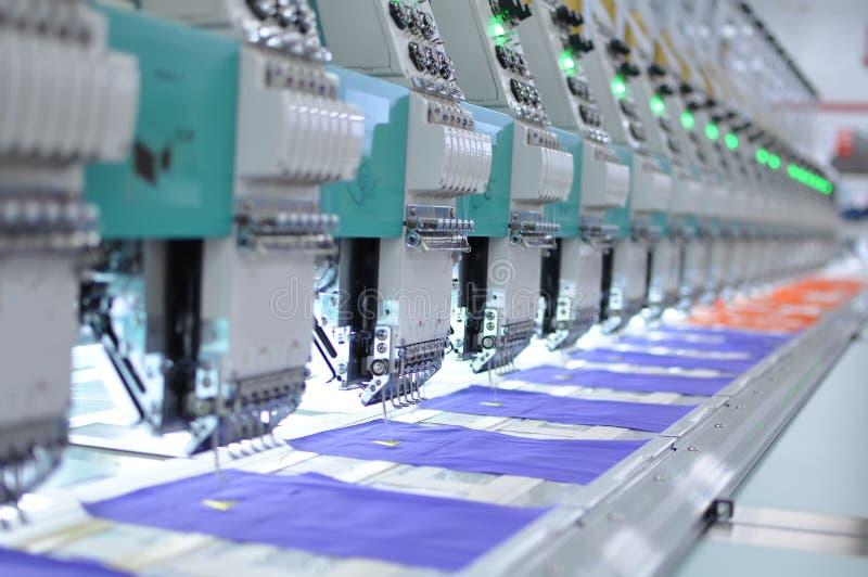 Textiel apparatuur stock afbeeldingen