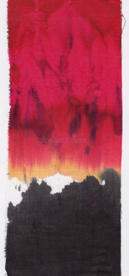 Textiel batikachtergrond stock afbeelding