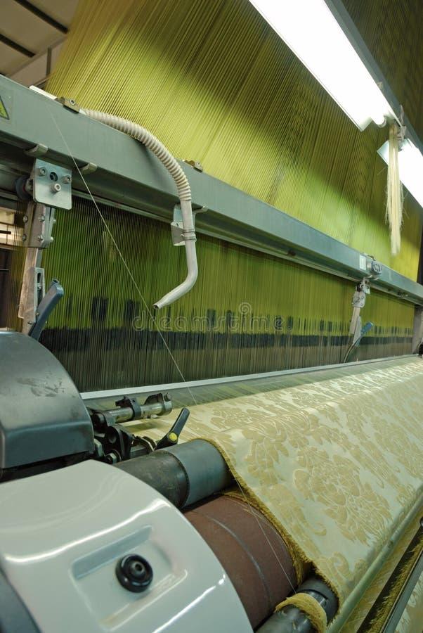 Textiel machine royalty-vrije stock foto