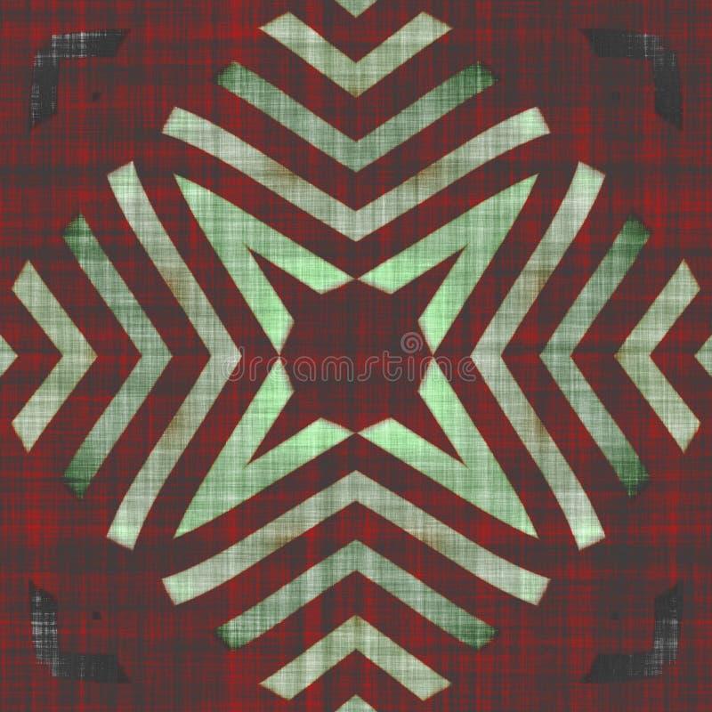 Download Textiel Naadloos Stoffenpatroon Stock Illustratie - Illustratie bestaande uit decoratief, ontwerp: 107700691