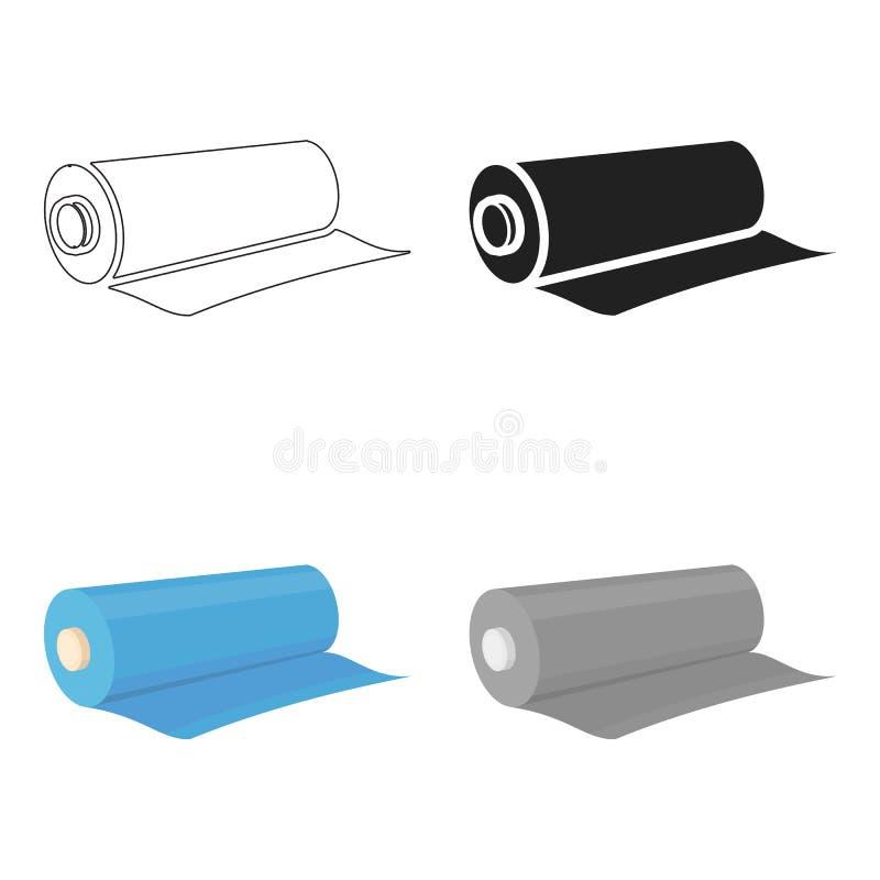 Textielbroodjespictogram van vectorillustratie voor Web en mobiel vector illustratie