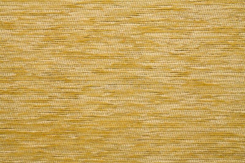 Textielstoffentextuur Kombin 20 Citroengele gele kleur stock foto