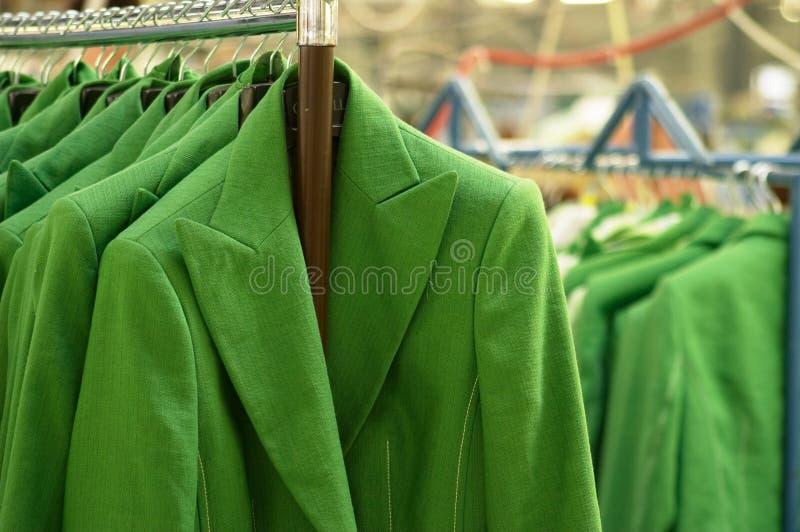 Textil factory. Garments factory, Clothes Production stock image