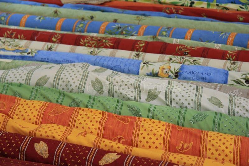 Textil från Provence arkivbilder