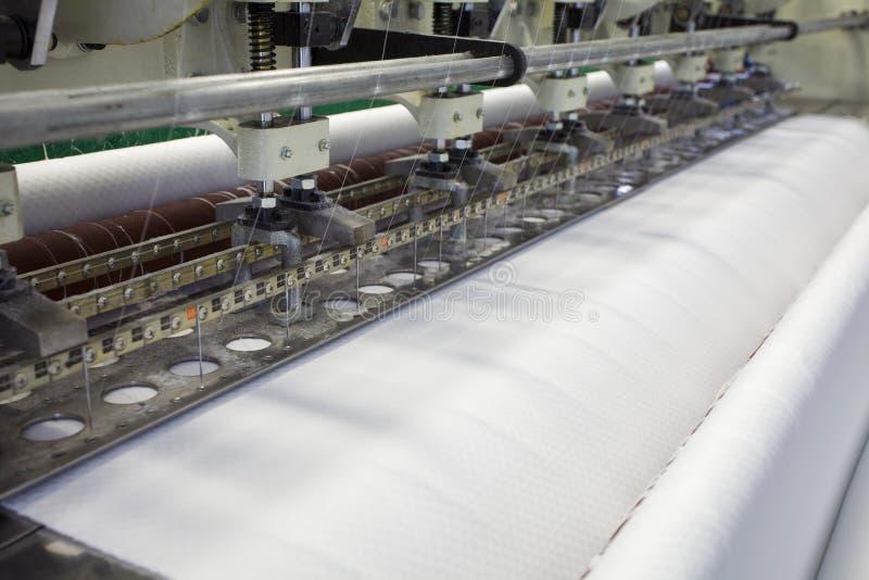 Textil- och tygfabrik arkivfoton