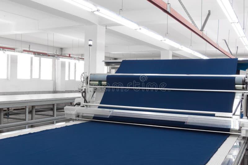 Textil- und Kleiderfabrik stockfotos