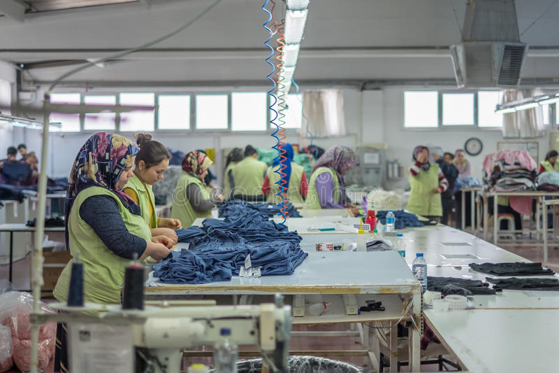 Textilarbeitskräfte stockfotografie