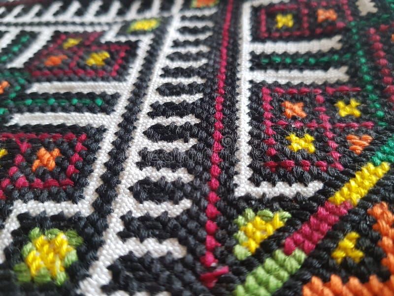 textile Παραδοσιακή διαγώνιος-βελονιά Εκλεκτής ποιότητας ουκρανική διαγώνιος-βελονιά Juicy χρώματα στοκ φωτογραφία με δικαίωμα ελεύθερης χρήσης