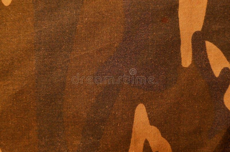 Textile camouflage cloth texture stock photo