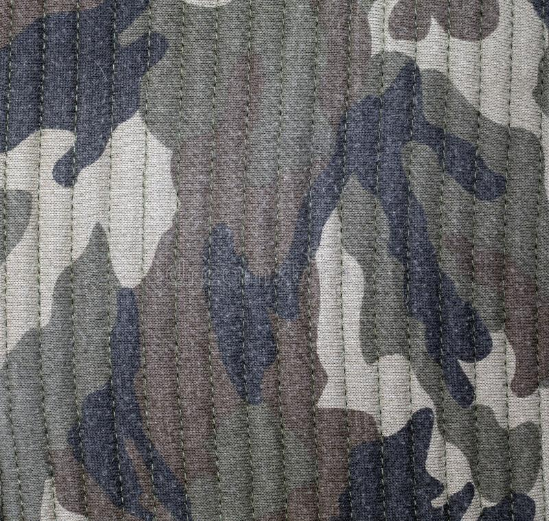 Textile camouflage uniform color background pattern. abstract background and texture for design royalty free stock photo