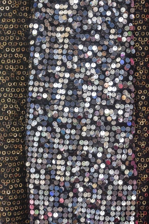 Textile de paillette images libres de droits