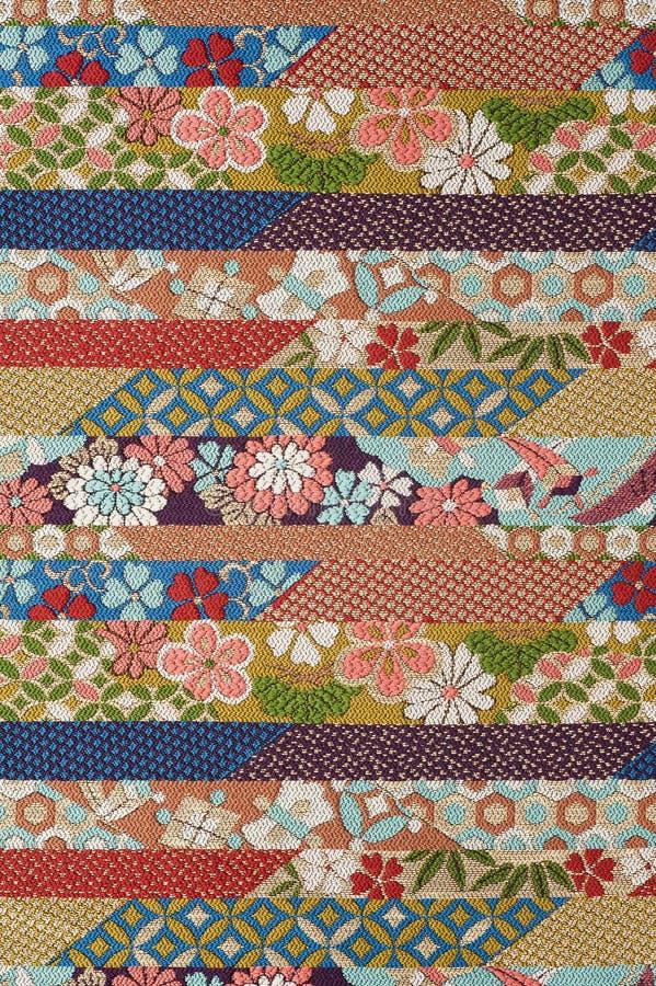 Textile en soie pur images stock