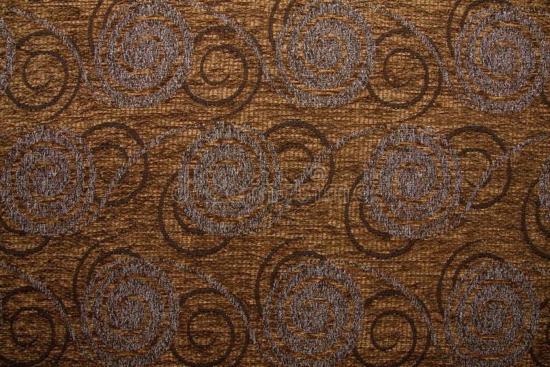Download Textile Fabric Texture Anemon 10 Dark Copper Brown Color Stock Photo