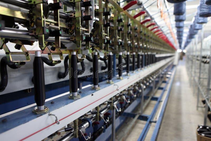 textile machinery stock image image of brand white