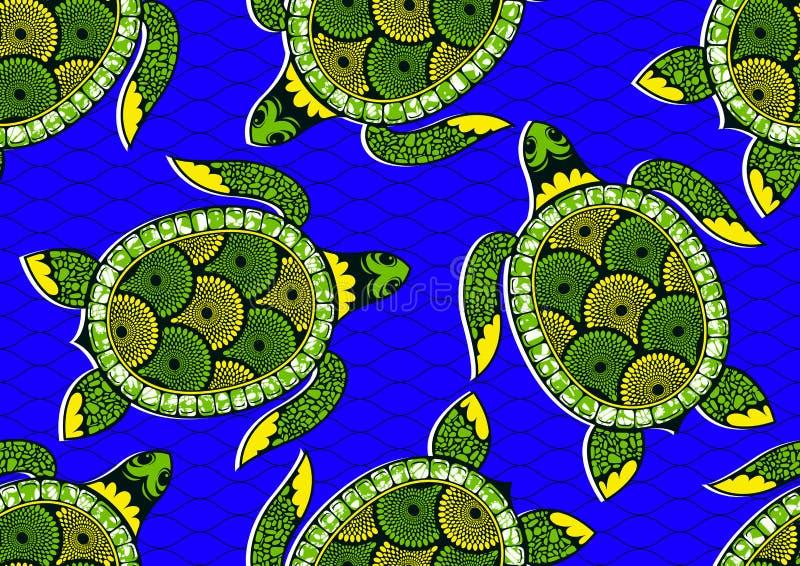 Textile fashion african print royalty free illustration