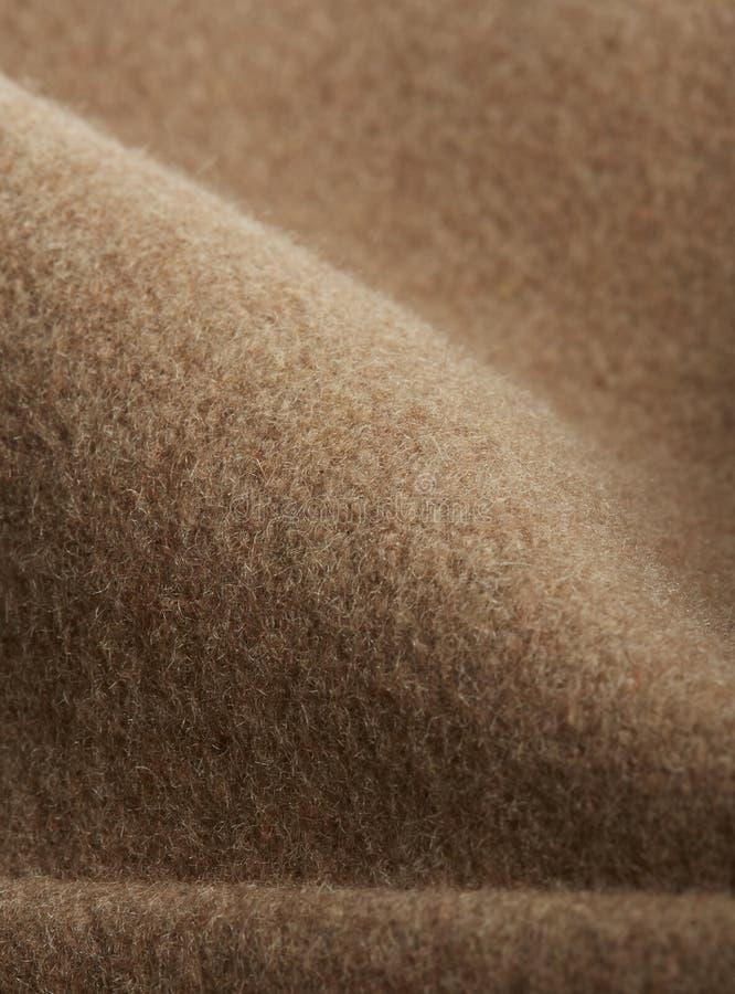 Textile - gros plan brun, macro photographie avec volumes photo libre de droits