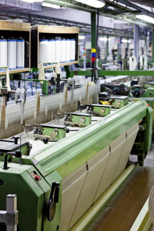 Textile Machine Stock Image