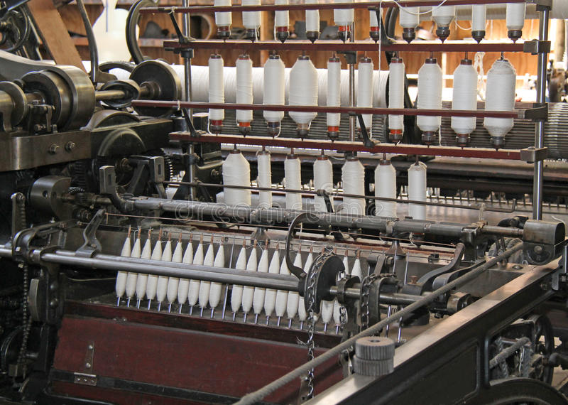 Textile Machine. stock images