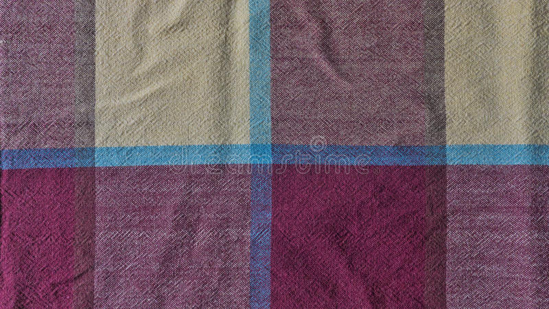 Textile. Macro from cotton table cloth to be used in meals royalty free stock photo