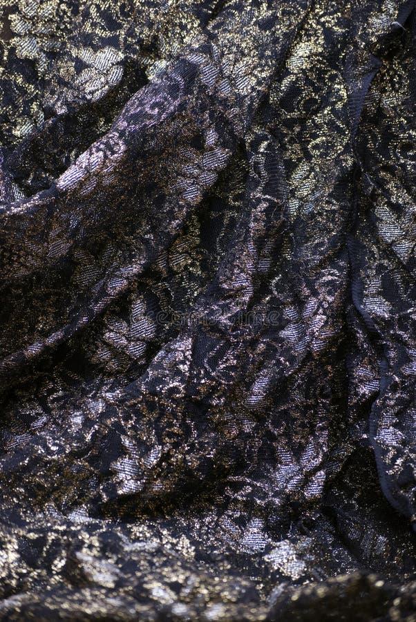 Textile noir photographie stock libre de droits