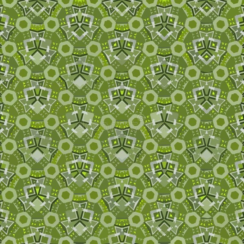Textile ornament in green color. Geometric print. Vintage texture. Ornament in green color. Geometric print. Vintage texture stock photography