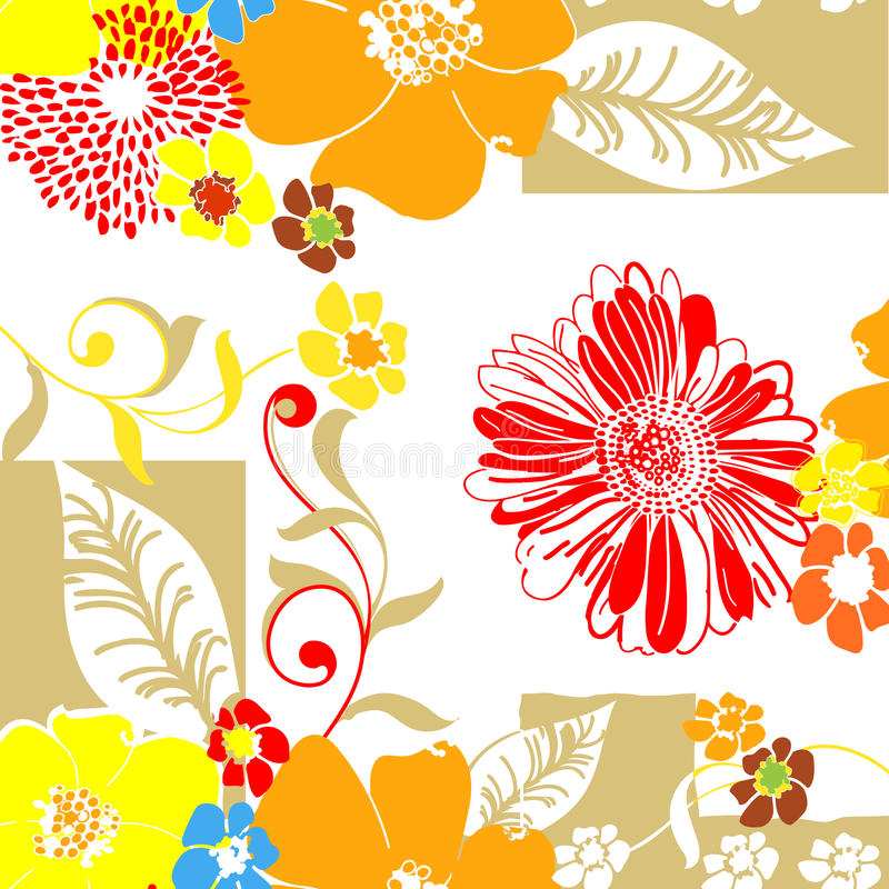 Download Textile Pattern-Floral stock vector. Illustration of textile - 12852822