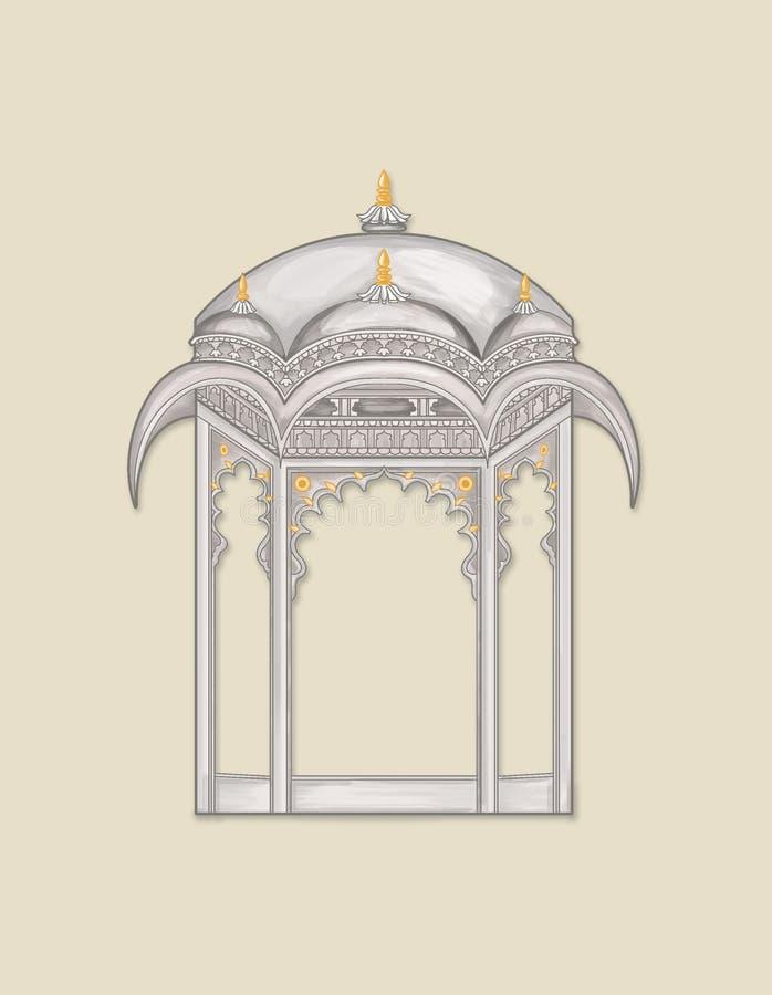 Free Textile Print Mughal Flower Illustration And Plant Vintage Manual Artwork Digitally Enhanced Royalty Free Stock Photo - 150643445