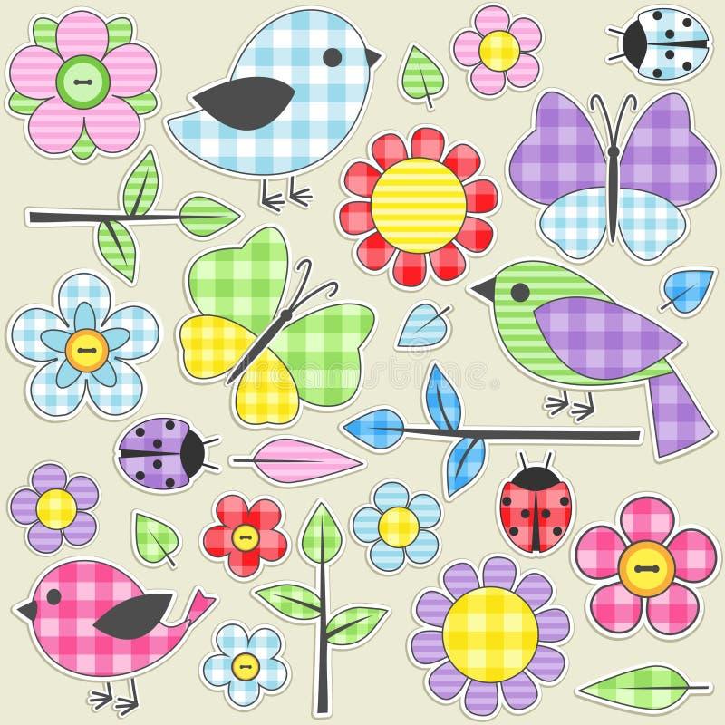 Free Textile Stickers Stock Photos - 20743353