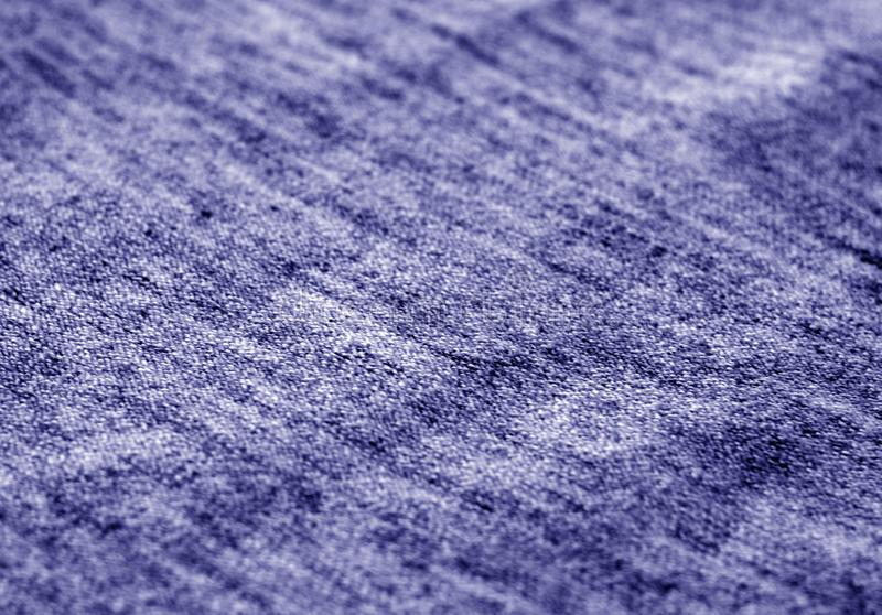 Textile texture with blur effect in blue tone royalty free stock images