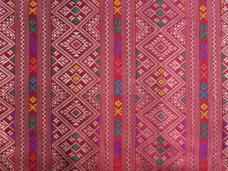 Textile thaïlandais photographie stock