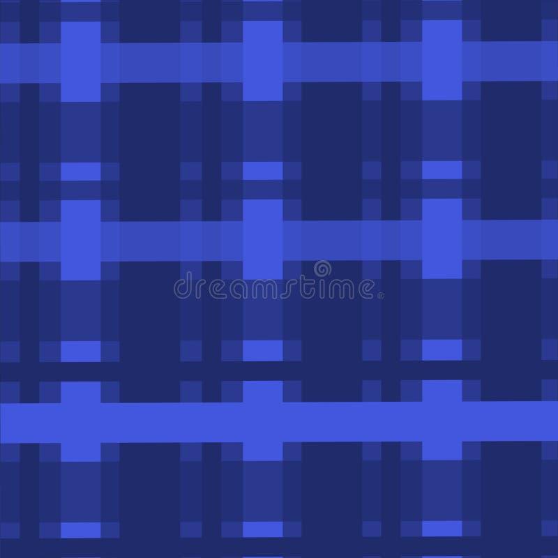 Textiler för blått för tyg för cell för tapet för bakgrund för bakgrundsabstrakt begreppmodell vektor illustrationer