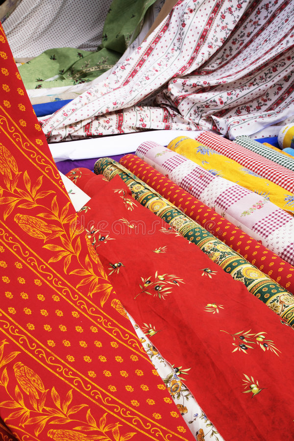 Textiles royalty free stock images