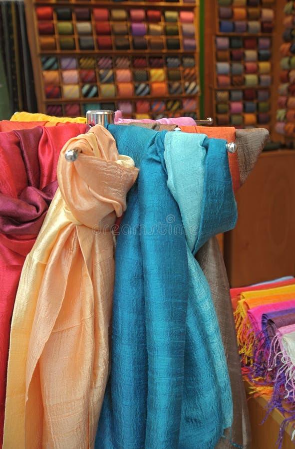Textilfarben lizenzfreie stockfotos