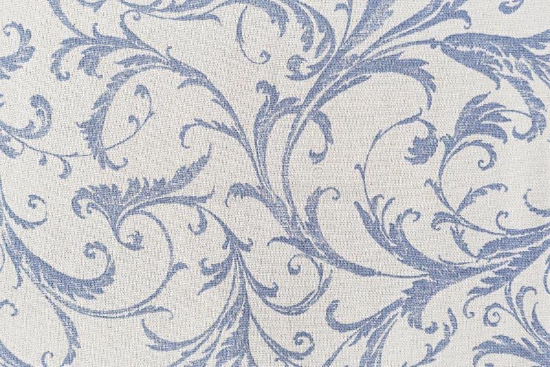 Textilhintergrund mit einem Muster stockbild