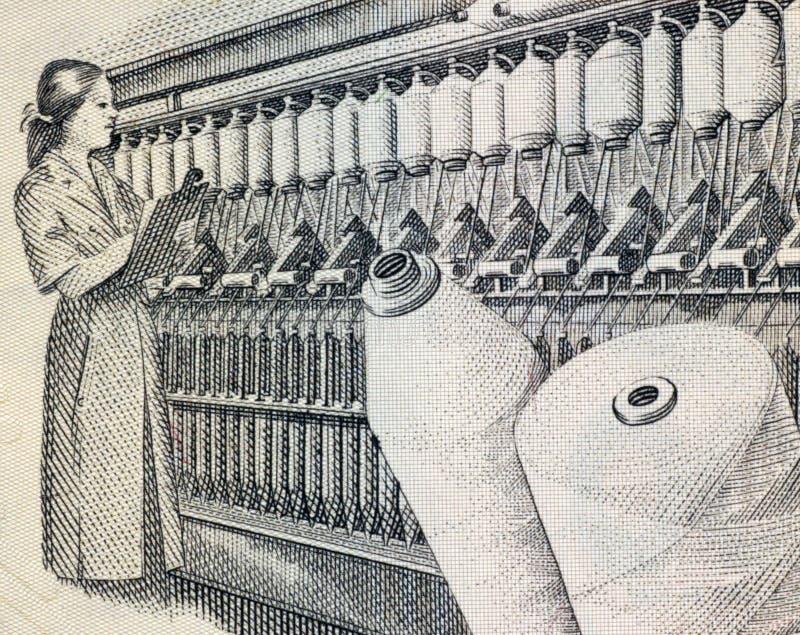 Textilindustrie lizenzfreies stockfoto