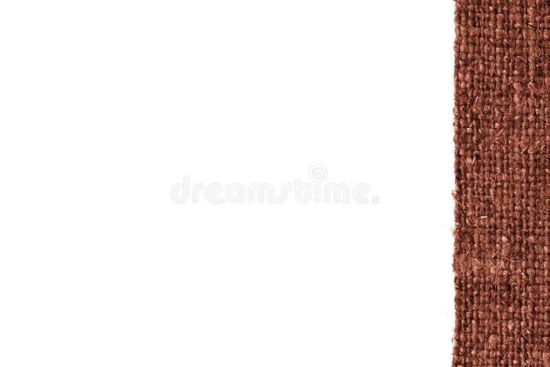 Textilplane, Gewebeschnur, Rostsegeltuch, stilvolles Material, leerer Hintergrund stockfotos