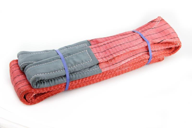 Textilsadelgjordsvävrem arkivfoto